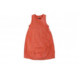 ROBE - MARESE - ORANGE - 6 ANS
