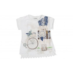 T-SHIRT - MAYORAL - DESSINS - 6-7 ANS