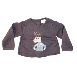 PULL - MARESE - MAUVE - 3MOIS