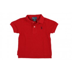 POLO - RALPH LAUREN - ROUGE - 1 AN