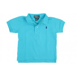 POLO - RALPH LAUREN - TURQUOISE - 1 AN