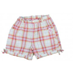 SHORT - NOUKIES - CARREAU - 6 ANS