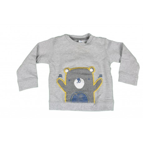 PULL - C&A - GRIS - 18 MOIS