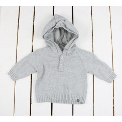 PULL - NOPPIES - GRIS - 1MOIS