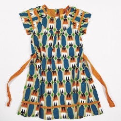 ROBE - FRED ET GINGER - MULTICOLORE - 4ANS